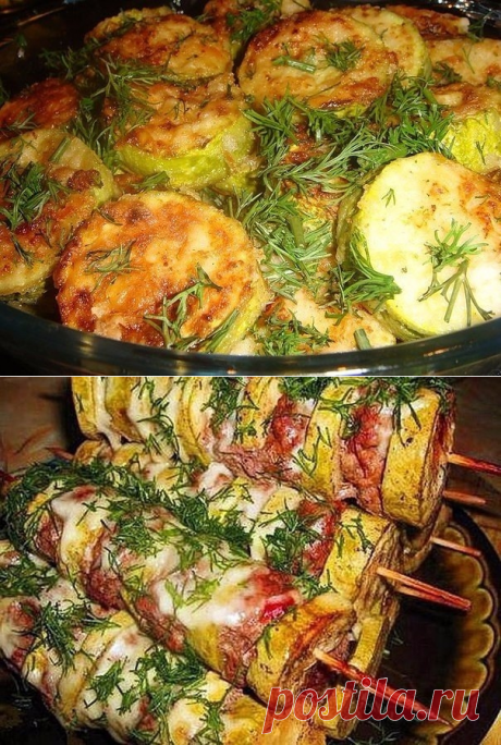 7 amazing recipes from vegetable marrows — Useful tips
