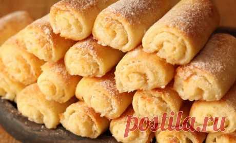 Вкусное печенье с творогом: быстро, просто, вкусно | Конфитюр | Яндекс Дзен