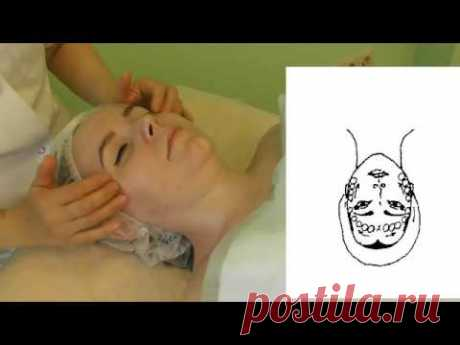 Facial massage Educational movie