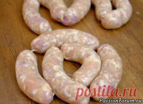 Домашняя колбаса из курицы - какая же сочная и ароматная! - запись пользователя FooDee (Alina) в сообществе Болталка в категории Кулинария