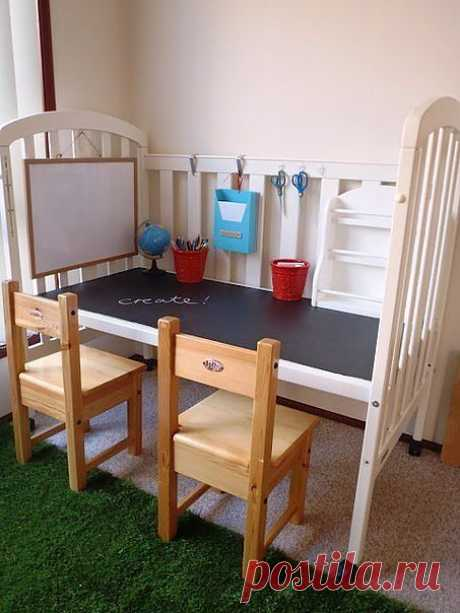 Новый взгляд на старую детскую кроватку / Детская комната / ВТОРАЯ УЛИЦА
