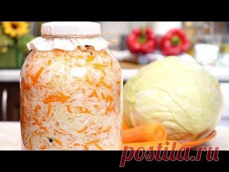 Капуста по-Молокански - один в один как квашеная! Рецепт маринованной капусты, готова через сутки!