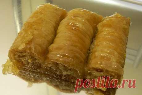 Турецкая пахлава рецепт – турецкая кухня: выпечка и десерты. «Еда»