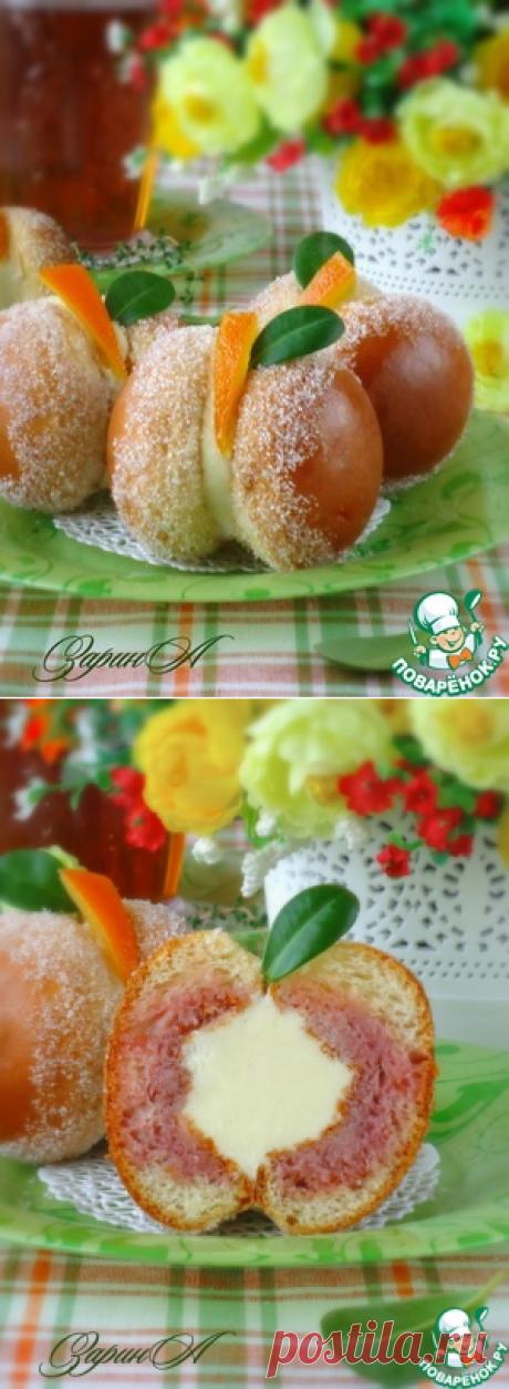 """Бриоши """"Персики Прато"""" - кулинарный рецепт"""