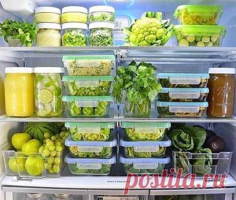 Правила хранения продуктов в холодильнике — Полезные советы