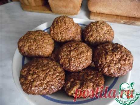 Овсяное печенье – кулинарный рецепт