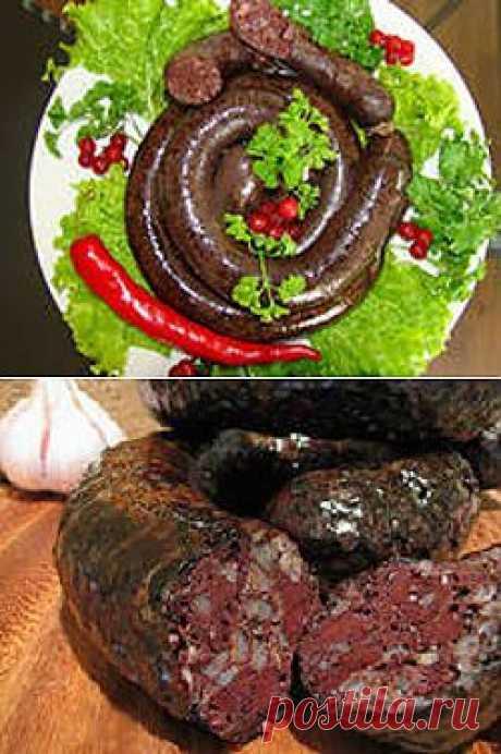 Рецепт кровяной колбасы. | Наш дом