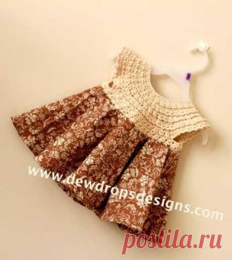 Folksy Flower Dress   FaveCrafts.com
