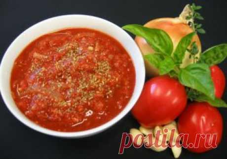 Неаполитанский томатный соус (для пиццы)