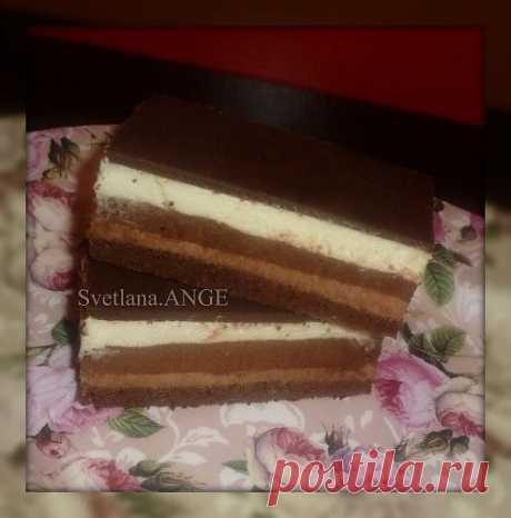 """Торт-мусс """"Три шоколада"""" (подробный мк)."""