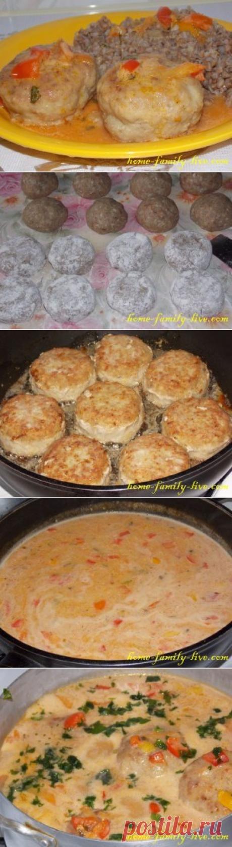 Биточки/Сайт с пошаговыми рецептами с фото для тех кто любит готовить