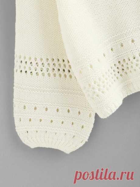 От глади к ажуру и наоборот. 5 схем узоров для вашего вдохновения   Anna Kuznetsova Knitting   Яндекс Дзен