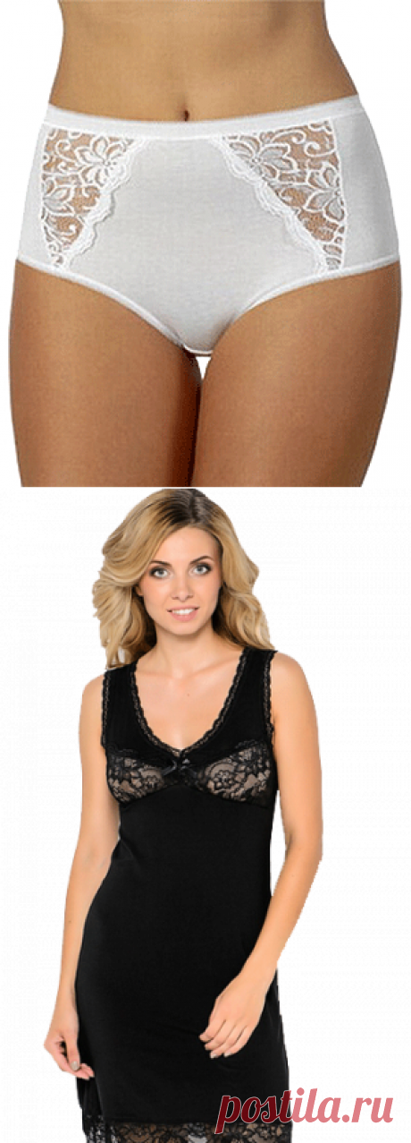 Шьем женское белье: трусики и сорочка | Шьем сами