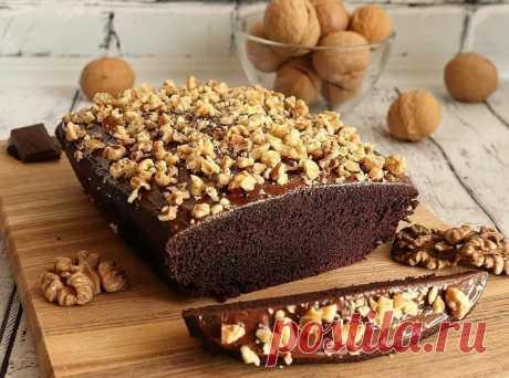 Изумительно вкусный шоколадный кекс