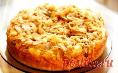 Заливной пирог на кефире: рецепты вкусной выпечки с фото