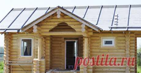 Герметизация деревянного дома под ключ