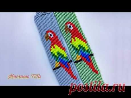 Браслет с попугаем (часть 2)