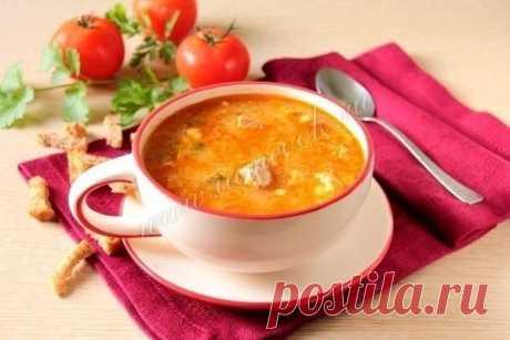 Kharcho soup in the crock-pot.