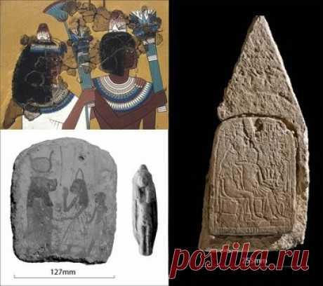 Конусы на головах древних египтян оказались реальными головными уборами