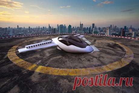 Революционный электрический автолёт совершил первый полёт (видео) - «Life.ru» — информационный портал