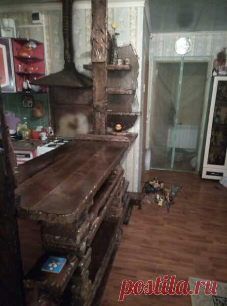 Барная стойка в кухню-гостиную ,своими руками.. | flqu.ru - квартирный вопрос. Блог о дизайне, ремонте