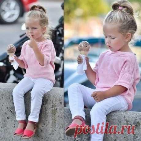 Кофточки на девочку от 1 до 3 лет спицы - описание, схемы + фото