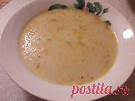 Сырный куриный суп с картофелем Сырный куриный суп с картофелем - пошаговый кулинарный рецепт приготовления с фото, шаг за шагом.