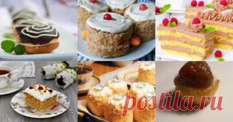 Бисквитные пирожные - 9 рецептов приготовления пошагово - 1000.menu Бисквитные пирожные - быстрые и простые рецепты для дома на любой вкус: отзывы, время готовки, калории, супер-поиск, личная КК
