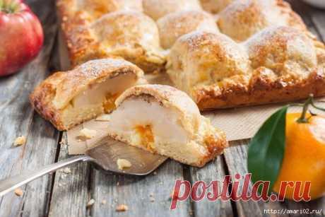 Для фанатов яблочных пирогов - не проходите мимо этого рецепта! | Четыре вкуса
