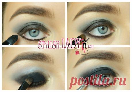 Серый макияж - 3 варианта с пошаговыми фото