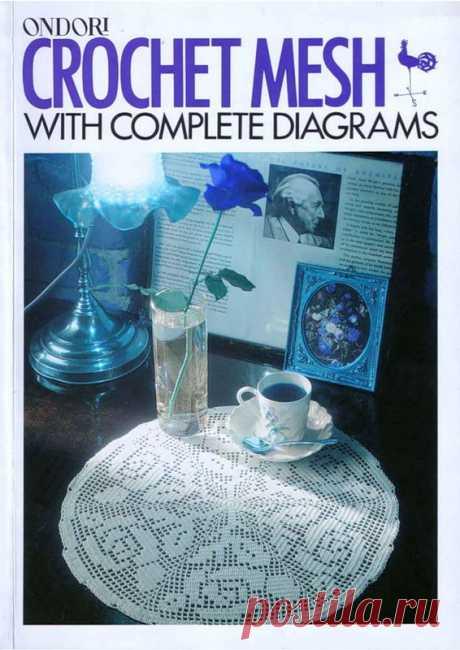 Вязание для дома в филейной технике-журнал(Ondori)