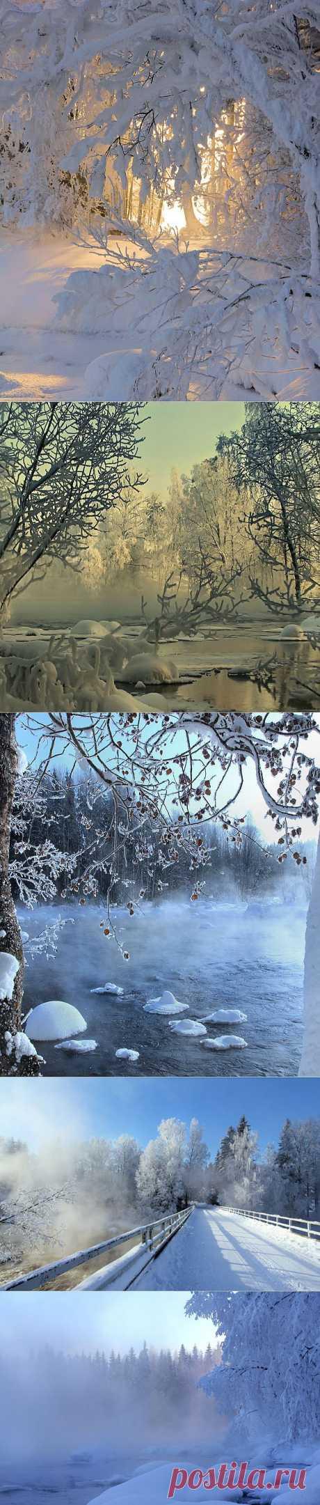 El fotógrafo Kari Liimatainen finlandés. ¡El invierno en toda la belleza!