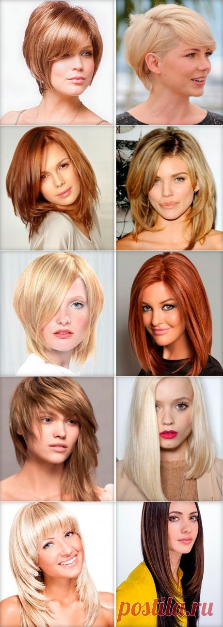 Los mejores peinados para delgado y el cabello raro — la foto