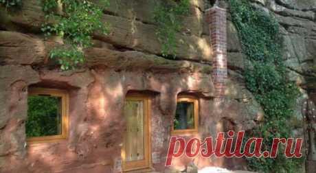 Британец переделал пещеру вдом мечты. Вот как он выглядит . Милая Я