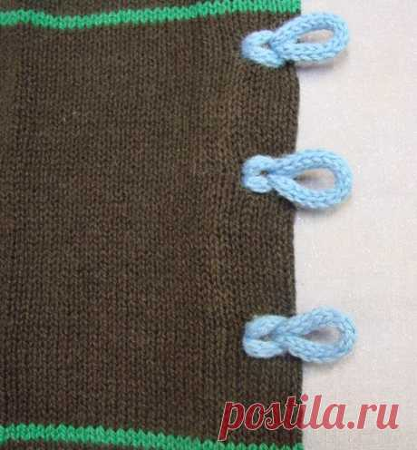 Los nudos de cuelga para las blusas.\u000ahttps:\/\/cckittenknits.wordpress.com\/2012\/02\/21\/loop-c.\u000a#машинное_вязание