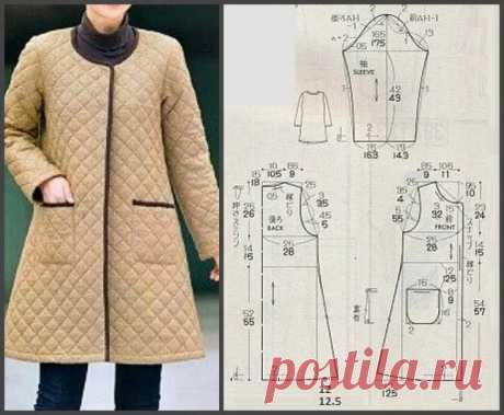 выкройка женского пальто - трапеция 58 размера бесплатно: 1 тыс изображений найдено в Яндекс.Картинках