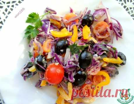 Салат «Краски осени» – кулинарный рецепт