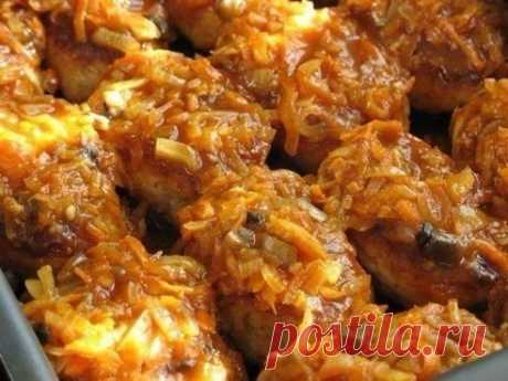 Рыбные котлетки с грибами — Sloosh – кулинарные рецепты