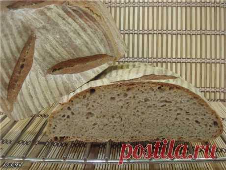 Пшенично-ржаной хлеб на ржаной закваске. - Хлебопечка.ру