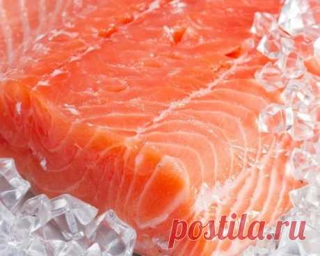The unusual recipe – light-salted red fish in the freezer