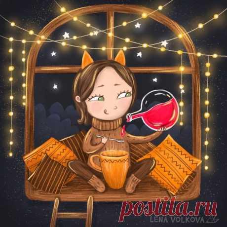 #Иллюстрαтор Lena Volkova
