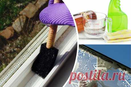 How to wash windows without stains