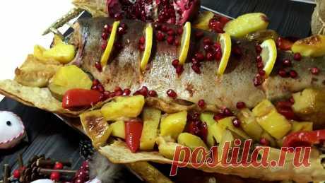 АРМЯНСКАЯ КУХНЯ Как приготовить армянское блюдо ФОРЕЛЬ В ЛАВАШЕ