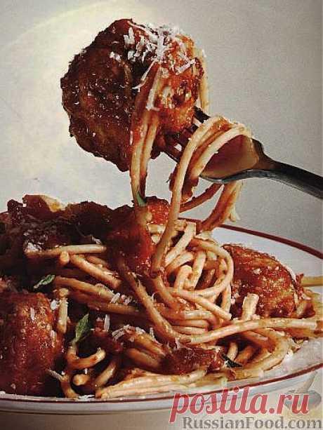 33 рецепта спагетти с фаршем.