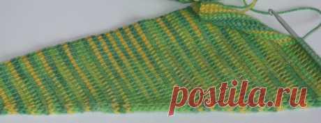 Вязание крючком от LenchaNS: тунисское вязание