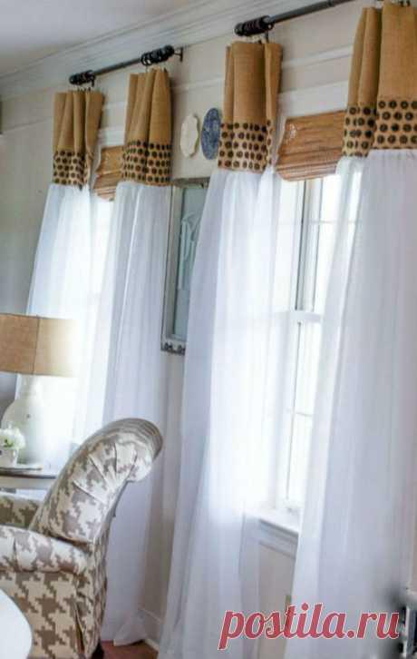 Варианты для пошива кухонных штор
