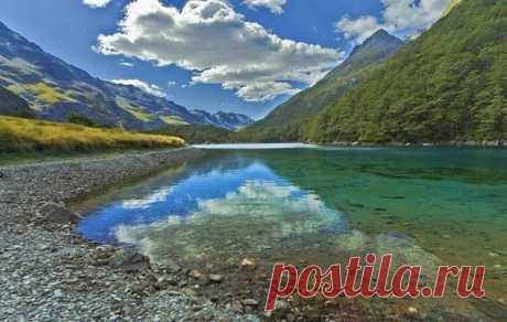 Голубое Озеро - одно из чистейших озер на планете - Путешествуем вместе