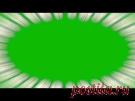 Green Screen Overlays HD Animation Frame Футаж рамка хромакей