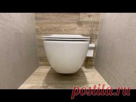 Это должно быть в каждом туалете, идеальная инсталяция. Ideal Standart. Ремонт ванной Bazilika