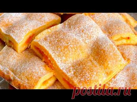 [ субтитры] Agizda dondurma kimi eriyen erik piroqu. Пирог с абрикосом просто тает ворту